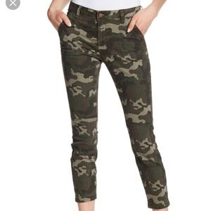William Rast crop skinny cargo
